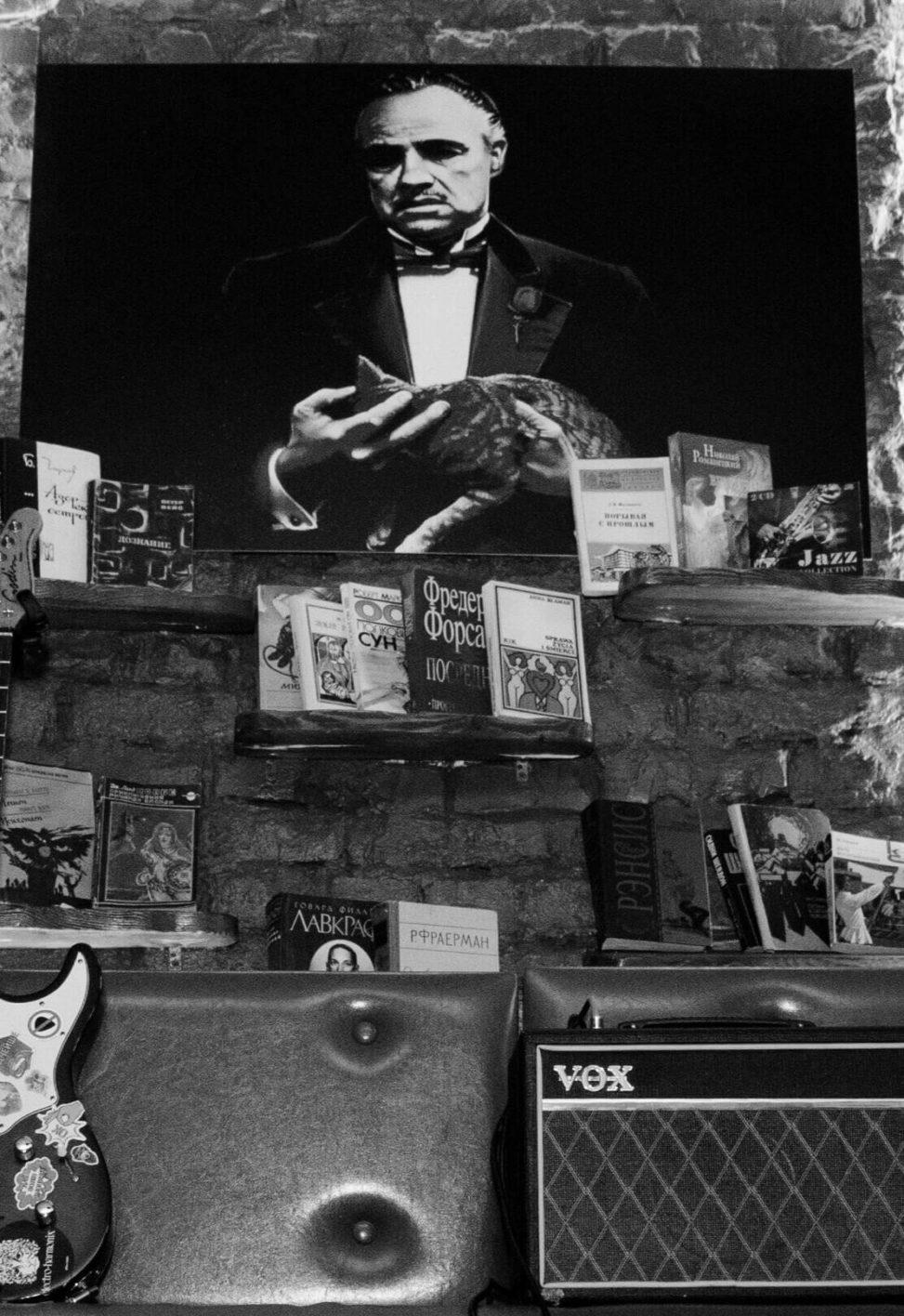 Картина с Доном Корлеоне