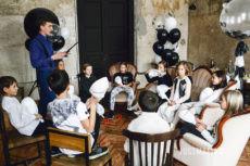 Павел Пчёлкин проводит Мафию для детей