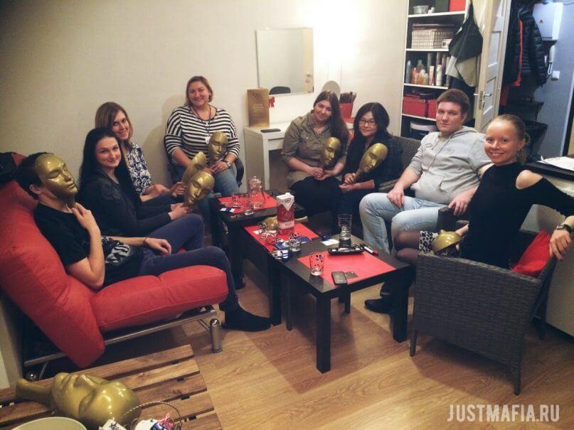 Kudrovo English-speaking club, Mafia coordinator Olga Dutova