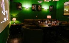 Зелёный зал в английском стиле